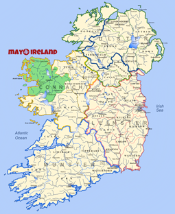 Map Of Ireland Knock.The Most Comprehensive Website On Co Mayo West Of Ireland Mayo