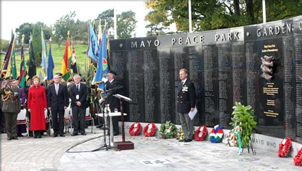 Photo: Illustrative image for the 'County Mayo Peace Park and Garden of Remembrance' page