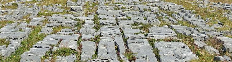 Geology of the Aran Islands, Co  Galway West of Ireland