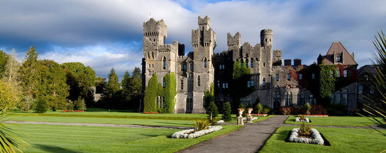 Ashford Castle Cong Co Mayo In The West Of Ireland