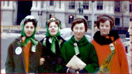 four irish girls from county mayo