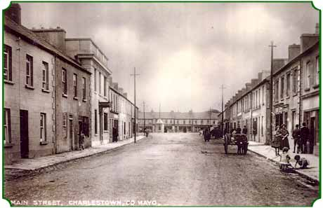 main street, charlestown, county mayo, ireland